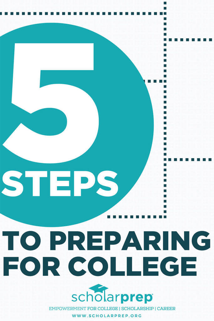 5 Step Guide to Preparing for College cover